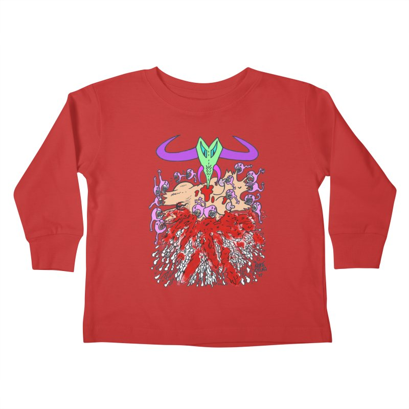 Tadpoles Kids Toddler Longsleeve T-Shirt by Mike Diana T-Shirts Mugs and More!