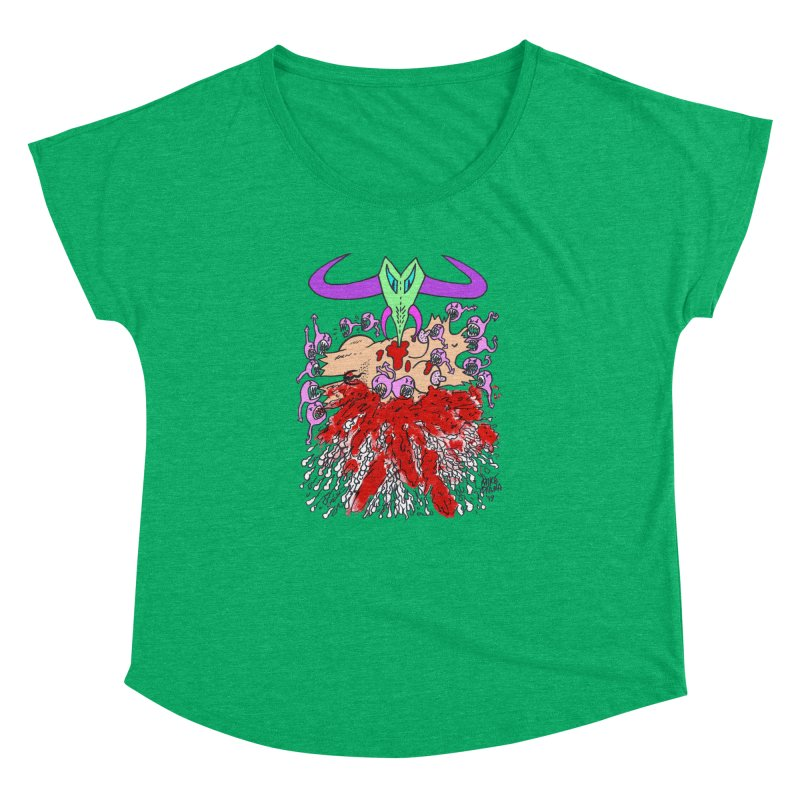 Tadpoles Women's Dolman Scoop Neck by Mike Diana T-Shirts Mugs and More!