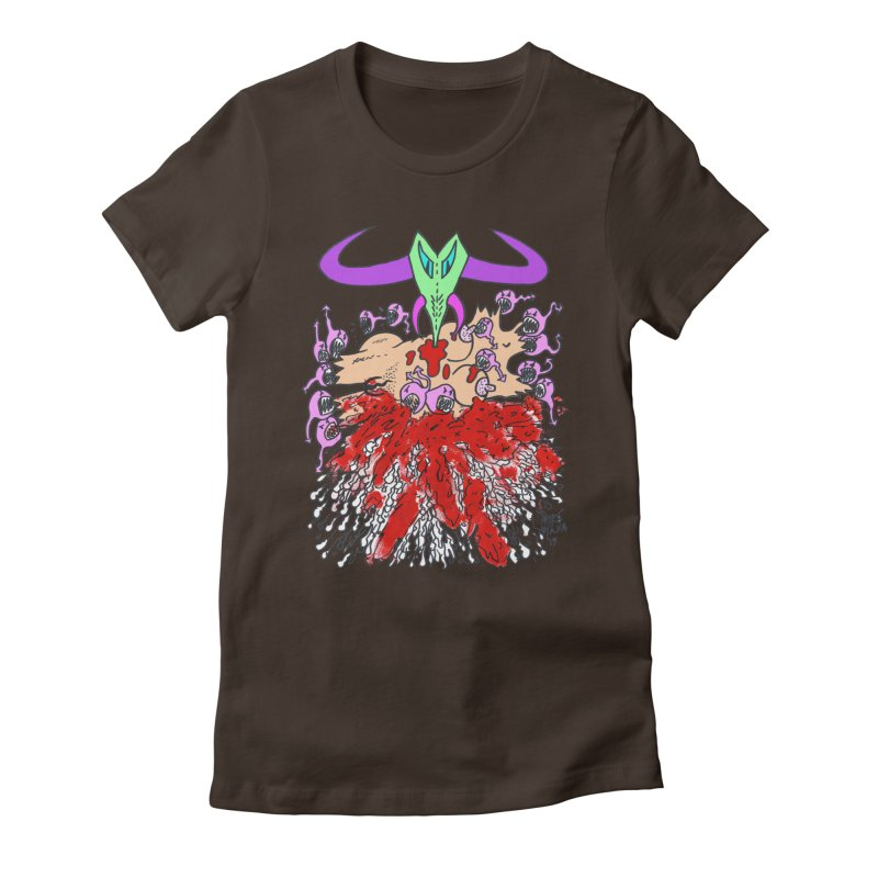 Tadpoles Women's Fitted T-Shirt by Mike Diana T-Shirts Mugs and More!