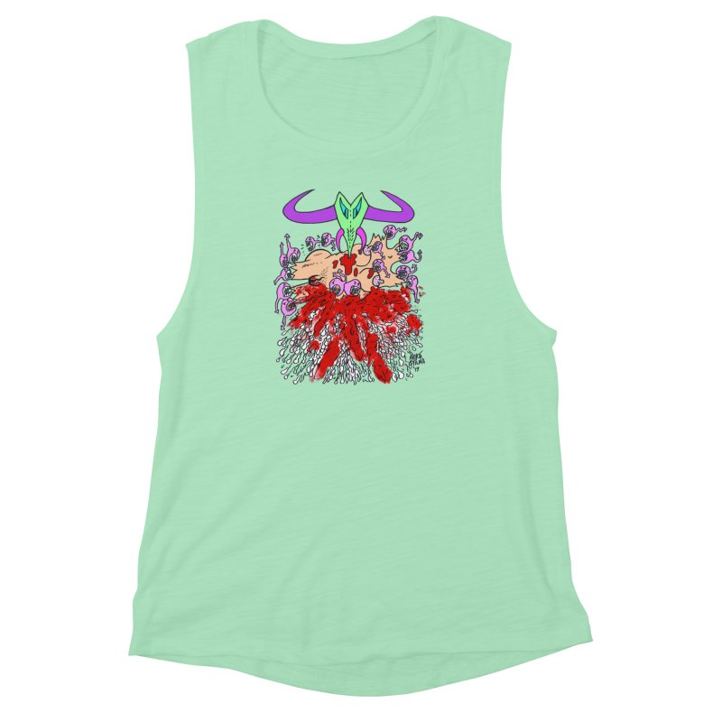 Tadpoles Women's Muscle Tank by Mike Diana T-Shirts Mugs and More!