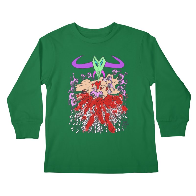 Tadpoles Kids Longsleeve T-Shirt by Mike Diana T-Shirts Mugs and More!