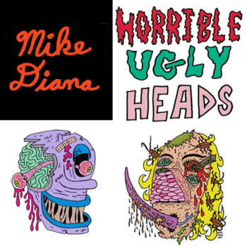 Mike Diana T-Shirts Mugs and More! Logo