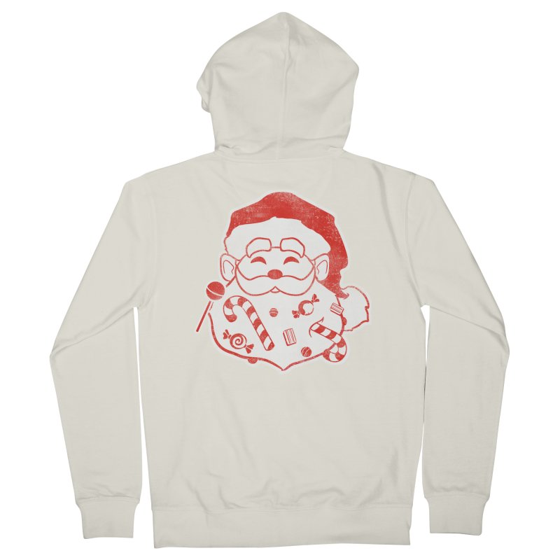 Stocking Stuffer Men's French Terry Zip-Up Hoody by Mike Kavanagh's Artist Shop