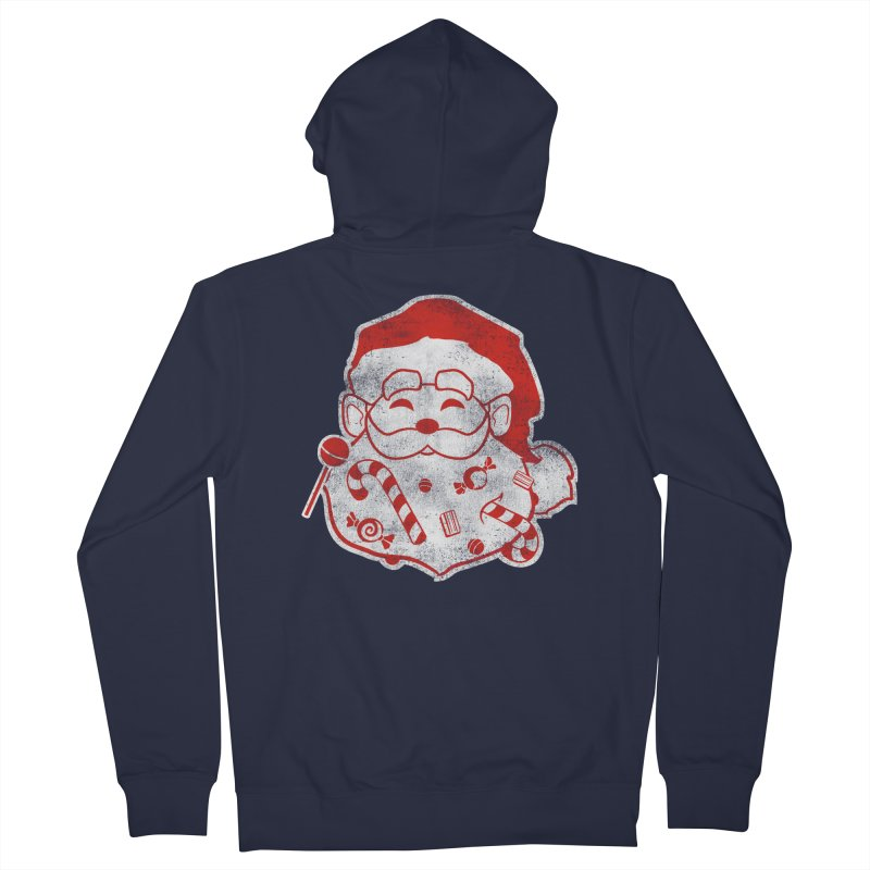 Stocking Stuffer Men's Zip-Up Hoody by Mike Kavanagh's Artist Shop