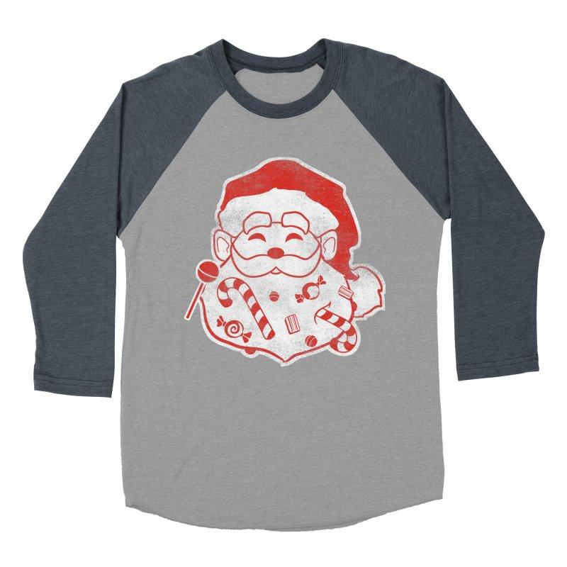 Stocking Stuffer Men's Baseball Triblend Longsleeve T-Shirt by Mike Kavanagh's Artist Shop