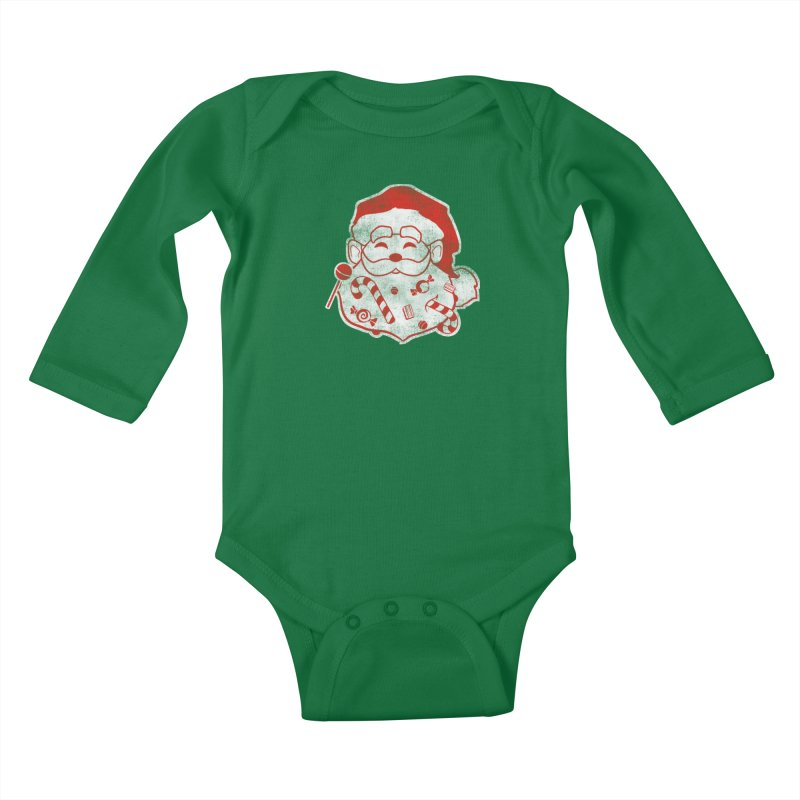 Stocking Stuffer Kids Baby Longsleeve Bodysuit by Mike Kavanagh's Artist Shop