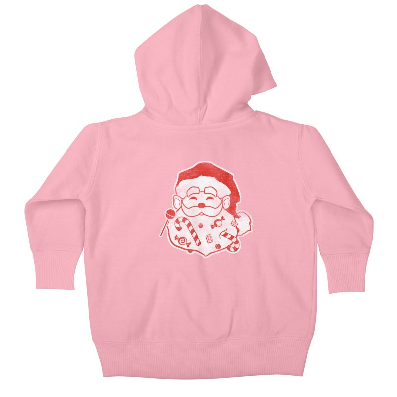 Stocking Stuffer Kids Baby Zip-Up Hoody by Mike Kavanagh's Artist Shop