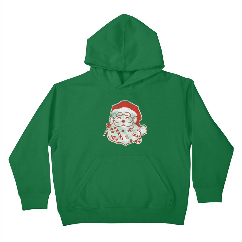 Stocking Stuffer Kids Pullover Hoody by Mike Kavanagh's Artist Shop