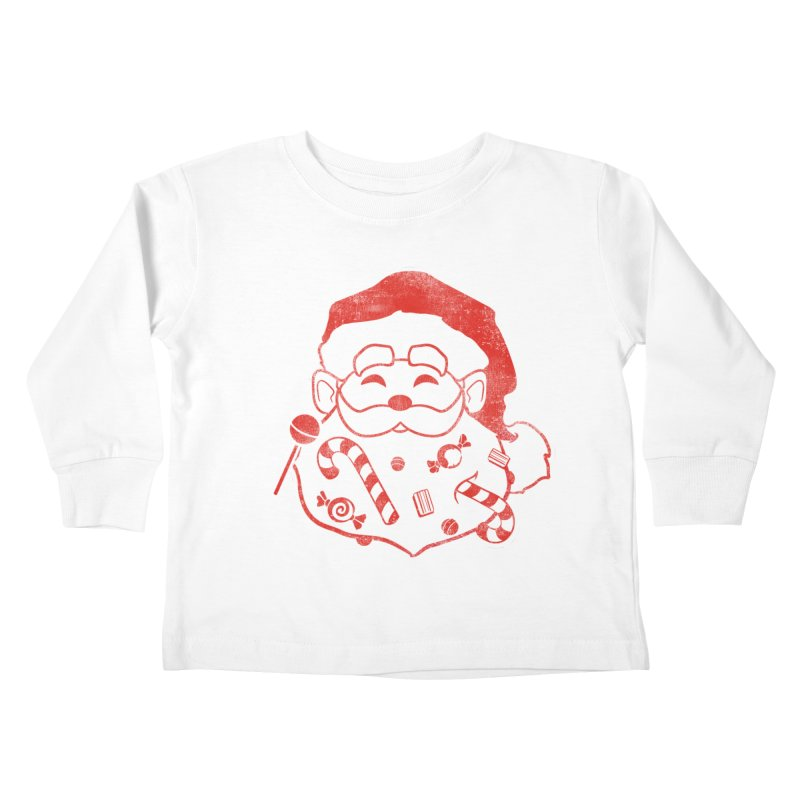 Stocking Stuffer Kids Toddler Longsleeve T-Shirt by Mike Kavanagh's Artist Shop