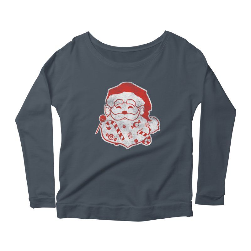 Stocking Stuffer Women's Scoop Neck Longsleeve T-Shirt by Mike Kavanagh's Artist Shop