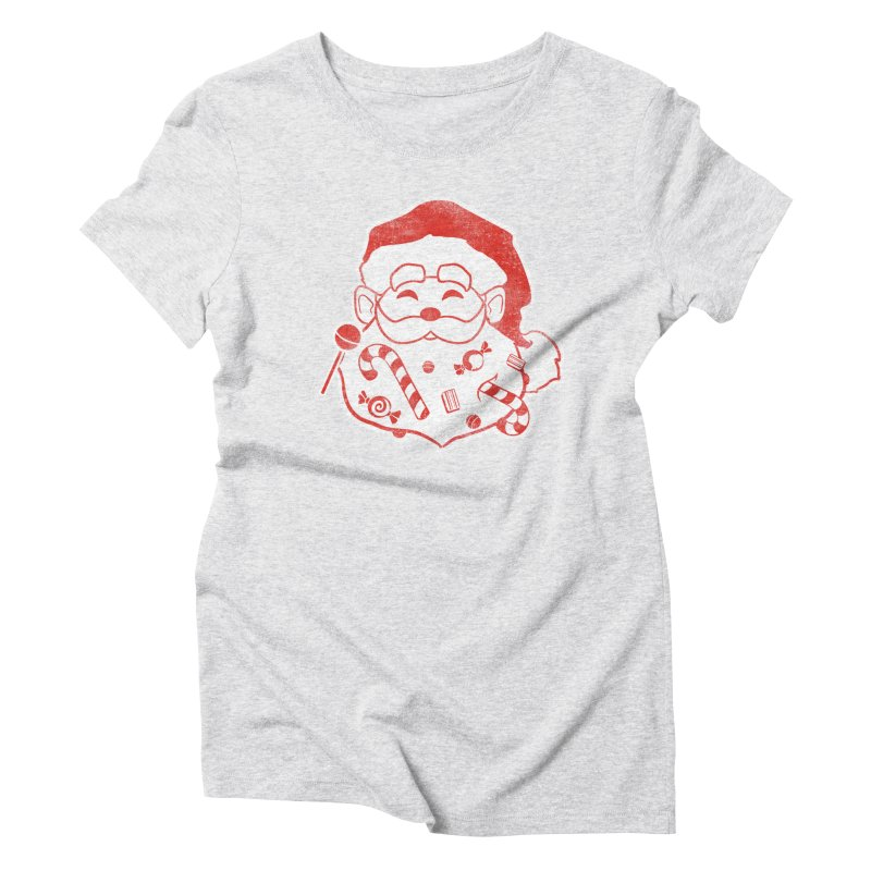 Stocking Stuffer Women's Triblend T-Shirt by Mike Kavanagh's Artist Shop