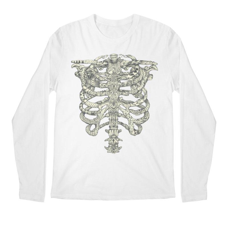 Caged Men's Longsleeve T-Shirt by Mike Kavanagh's Artist Shop