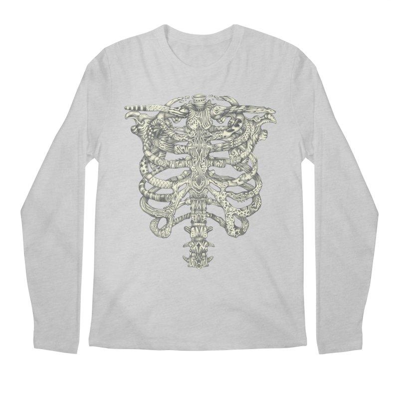 Caged Men's Regular Longsleeve T-Shirt by Mike Kavanagh's Artist Shop