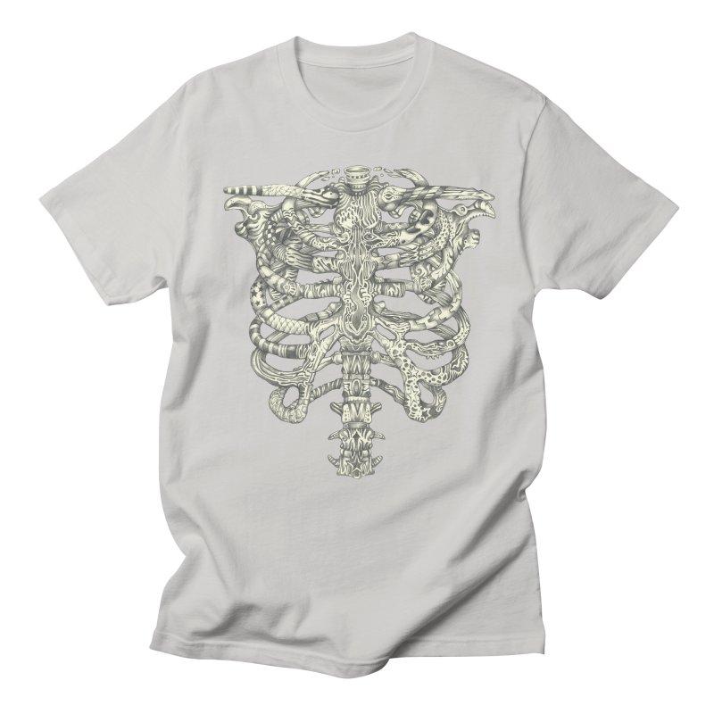 Caged Men's Regular T-Shirt by Mike Kavanagh's Artist Shop