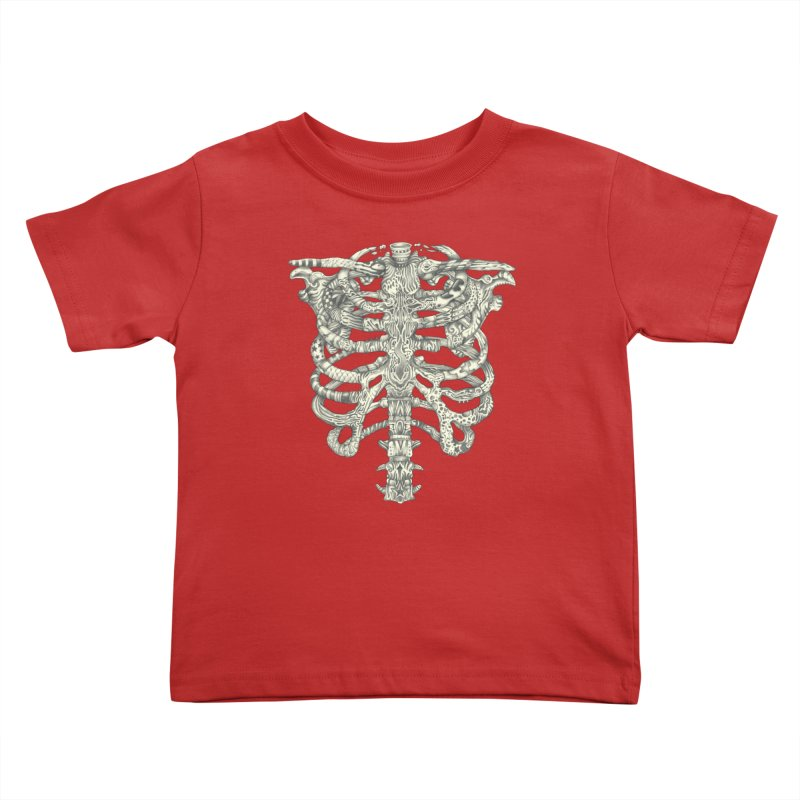 Caged Kids Toddler T-Shirt by Mike Kavanagh's Artist Shop