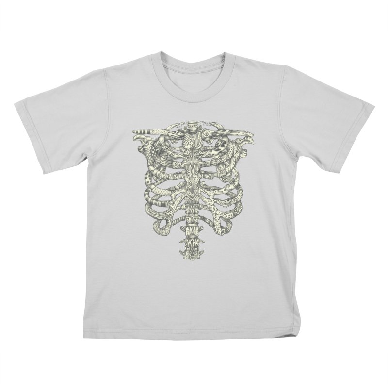 Caged Kids T-Shirt by Mike Kavanagh's Artist Shop