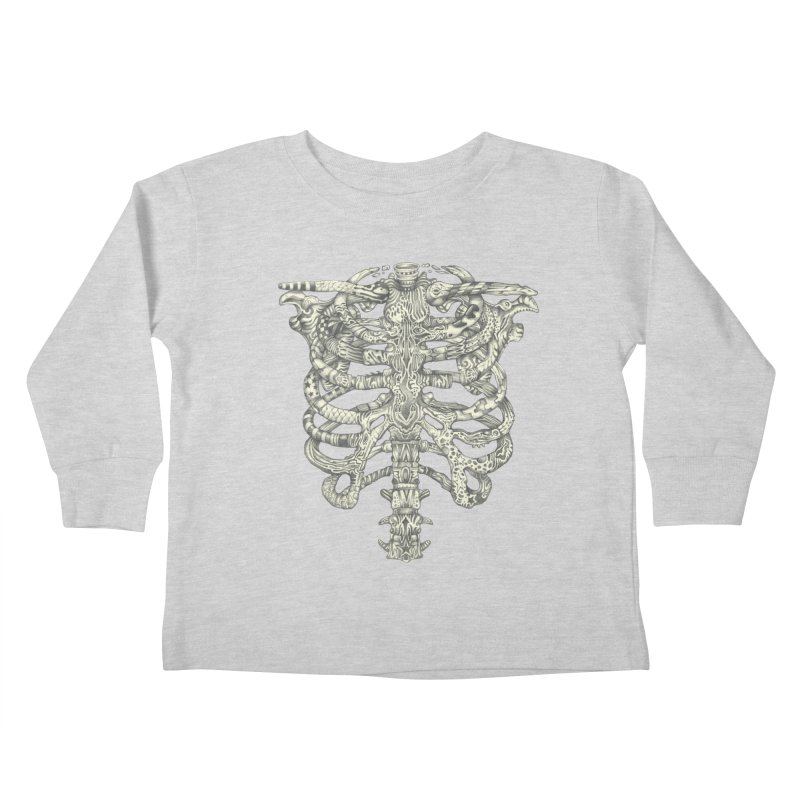 Caged Kids Toddler Longsleeve T-Shirt by Mike Kavanagh's Artist Shop