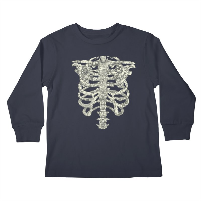 Caged Kids Longsleeve T-Shirt by Mike Kavanagh's Artist Shop
