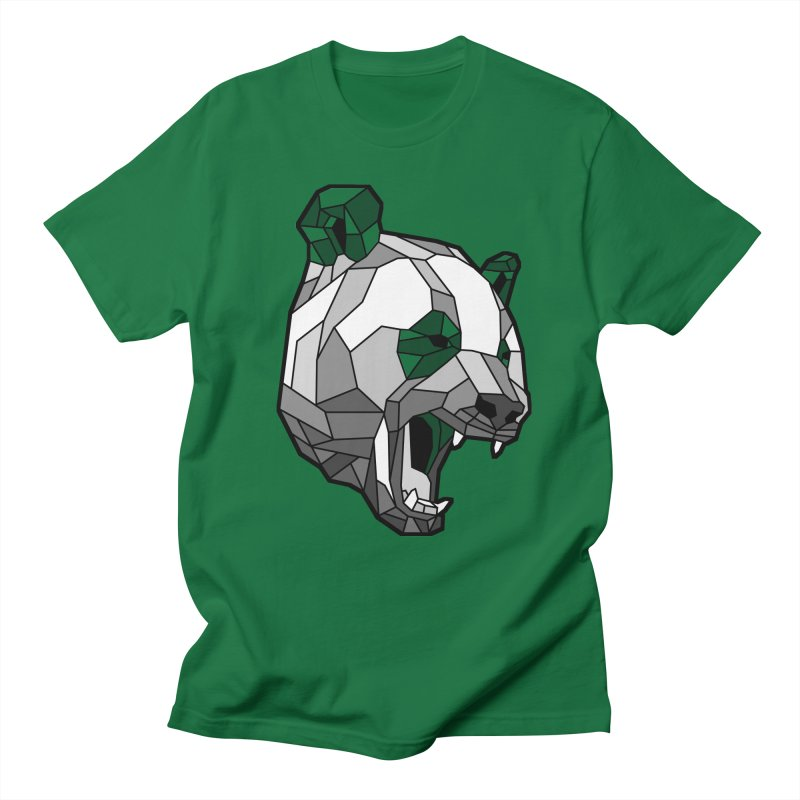 Panda Roar Men's T-shirt by Mike Kavanagh's Artist Shop