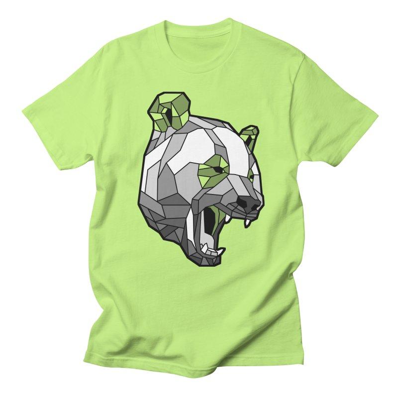 Panda Roar Men's T-Shirt by Mike Kavanagh's Artist Shop