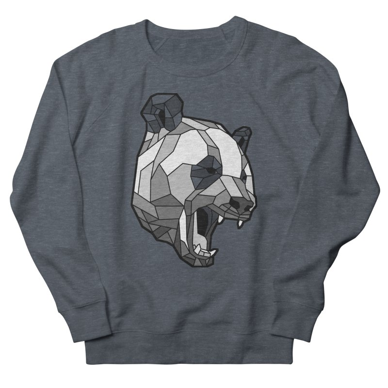Panda Roar Men's Sweatshirt by Mike Kavanagh's Artist Shop