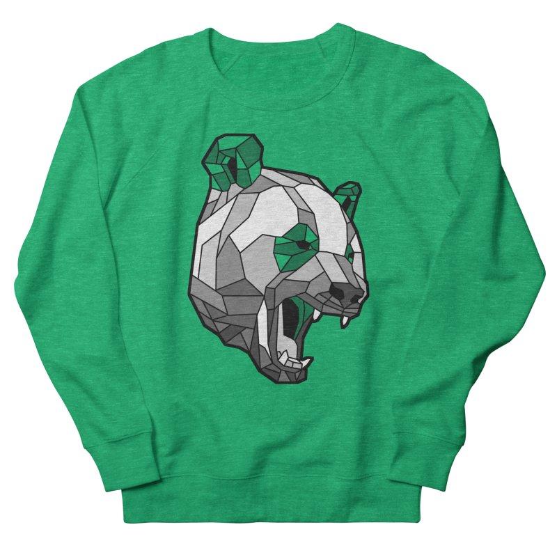 Panda Roar Men's French Terry Sweatshirt by Mike Kavanagh's Artist Shop