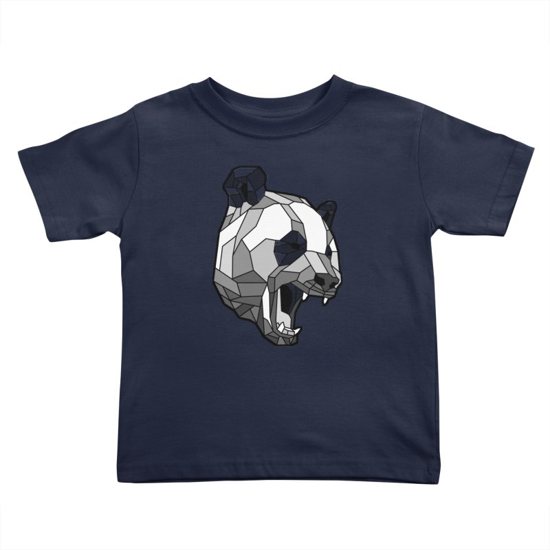 Panda Roar Kids Toddler T-Shirt by Mike Kavanagh's Artist Shop