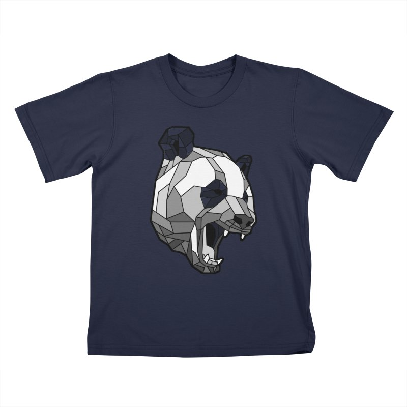 Panda Roar Kids T-Shirt by Mike Kavanagh's Artist Shop