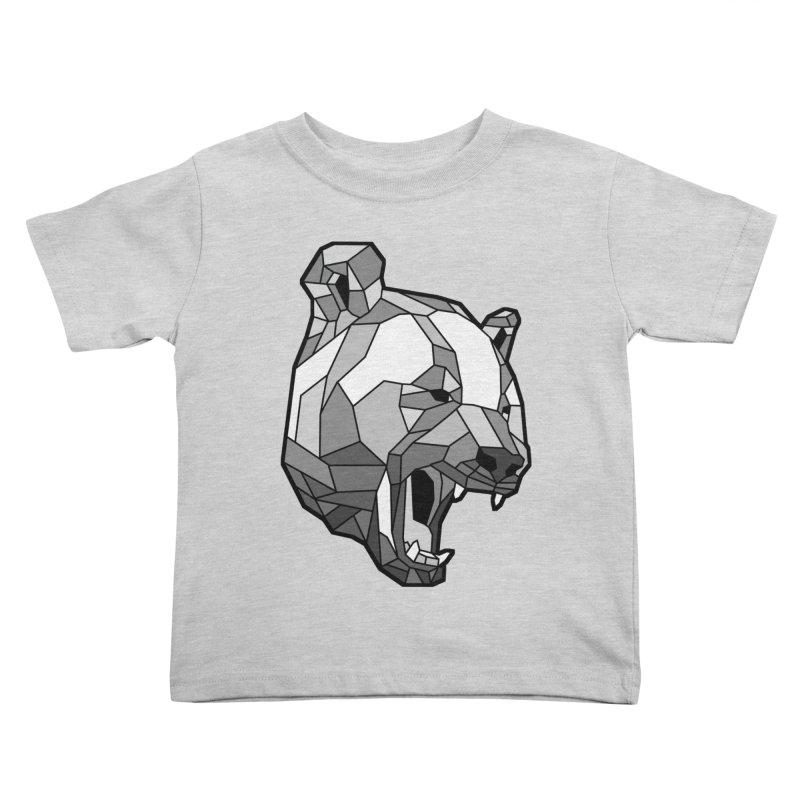 Panda Roar Kids Toddler T-Shirt by Mike Kavanagh's Artist Shop
