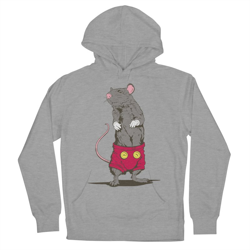 Real Mickey Women's French Terry Pullover Hoody by Mike Kavanagh's Artist Shop
