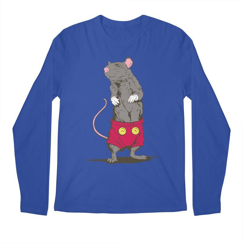 Real Mickey Men's Regular Longsleeve T-Shirt by Mike Kavanagh's Artist Shop