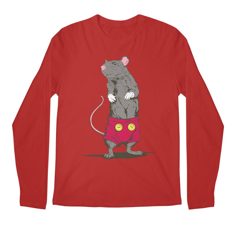 Real Mickey Men's Longsleeve T-Shirt by Mike Kavanagh's Artist Shop