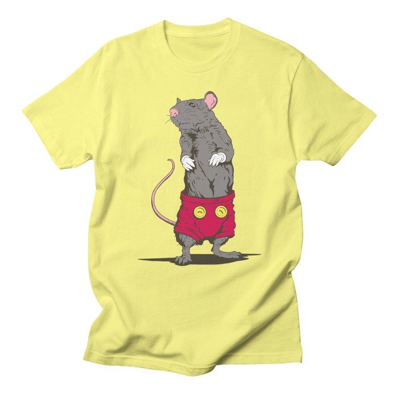 Real Mickey Men's Regular T-Shirt by Mike Kavanagh's Artist Shop