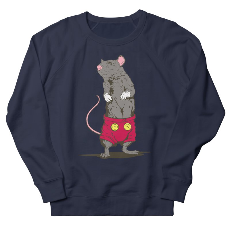 Real Mickey Women's French Terry Sweatshirt by Mike Kavanagh's Artist Shop
