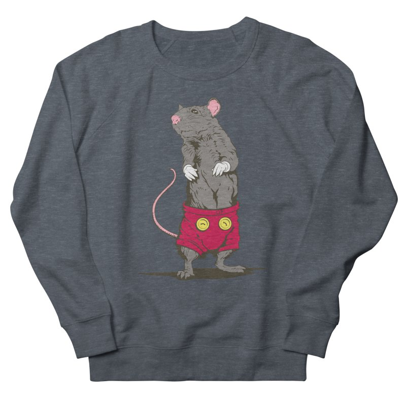 Real Mickey Men's French Terry Sweatshirt by Mike Kavanagh's Artist Shop