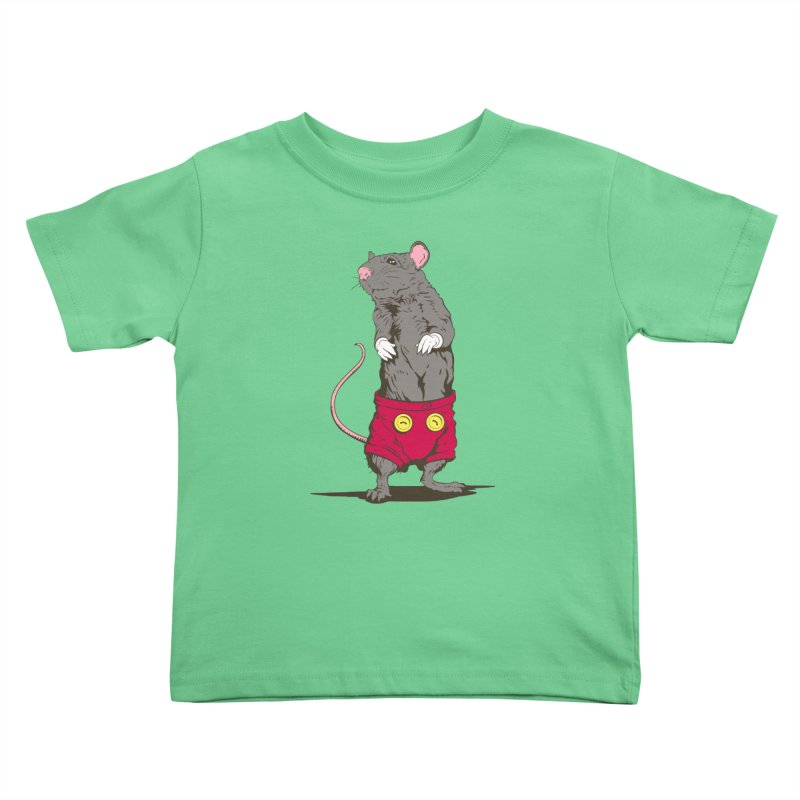 Real Mickey Kids Toddler T-Shirt by Mike Kavanagh's Artist Shop
