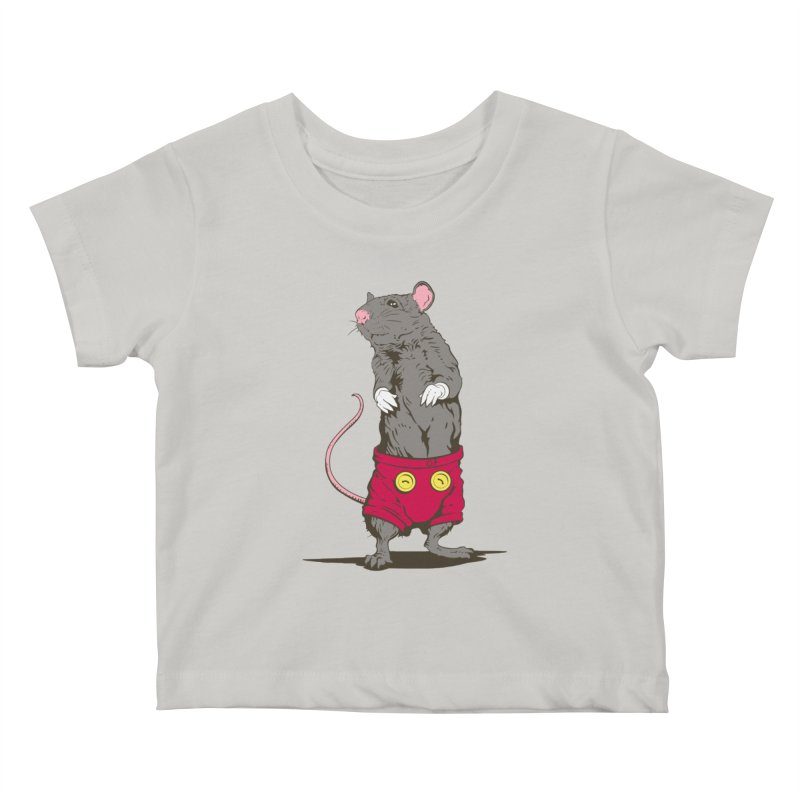 Real Mickey Kids Baby T-Shirt by Mike Kavanagh's Artist Shop