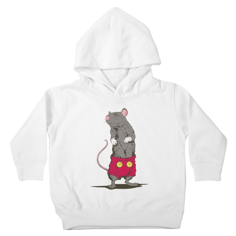 Real Mickey Kids Toddler Pullover Hoody by Mike Kavanagh's Artist Shop