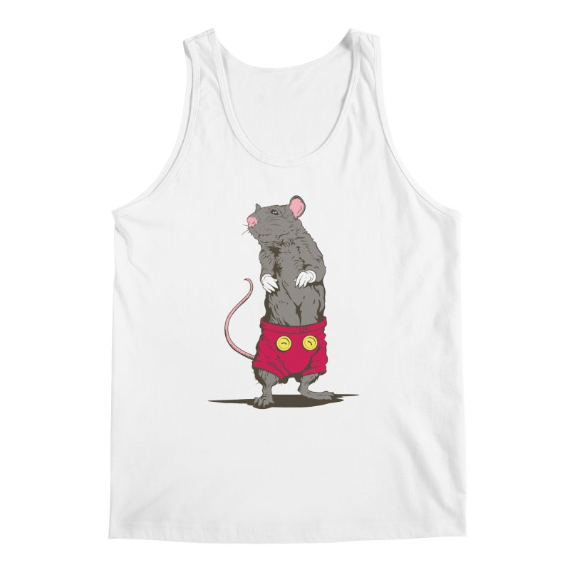 Real Mickey Men's Tank by Mike Kavanagh's Artist Shop