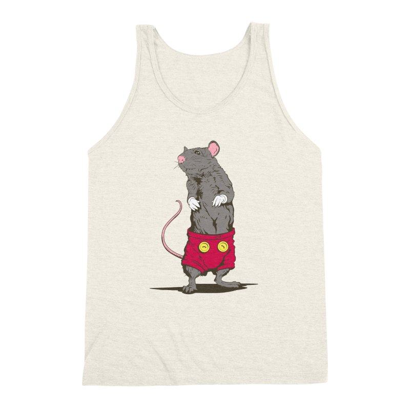 Real Mickey Men's Triblend Tank by Mike Kavanagh's Artist Shop