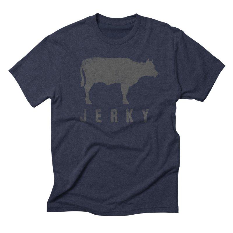 Jerky Men's Triblend T-shirt by Mike Kavanagh's Artist Shop