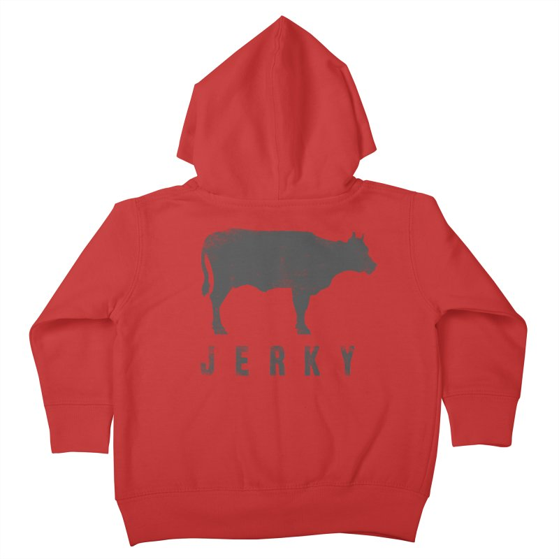 Jerky Kids Toddler Zip-Up Hoody by Mike Kavanagh's Artist Shop