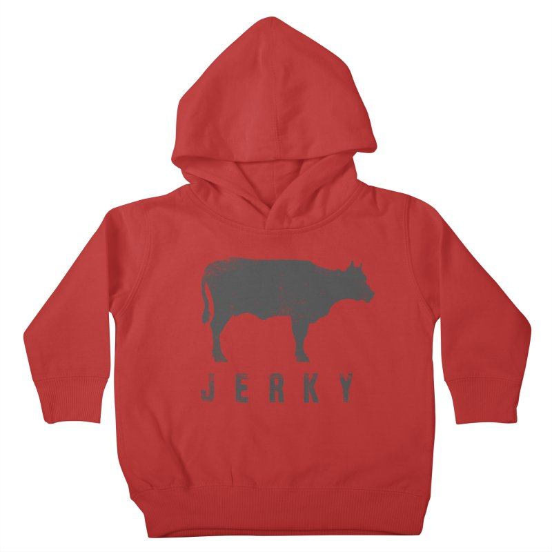Jerky Kids Toddler Pullover Hoody by Mike Kavanagh's Artist Shop