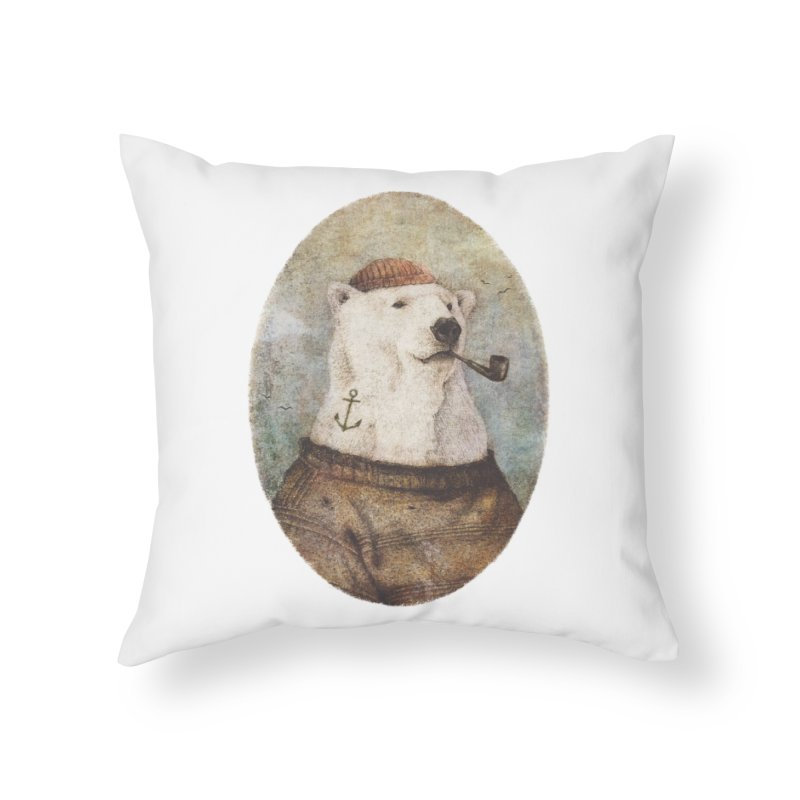 Onto the Shore Home Throw Pillow by mikekoubou's Artist Shop