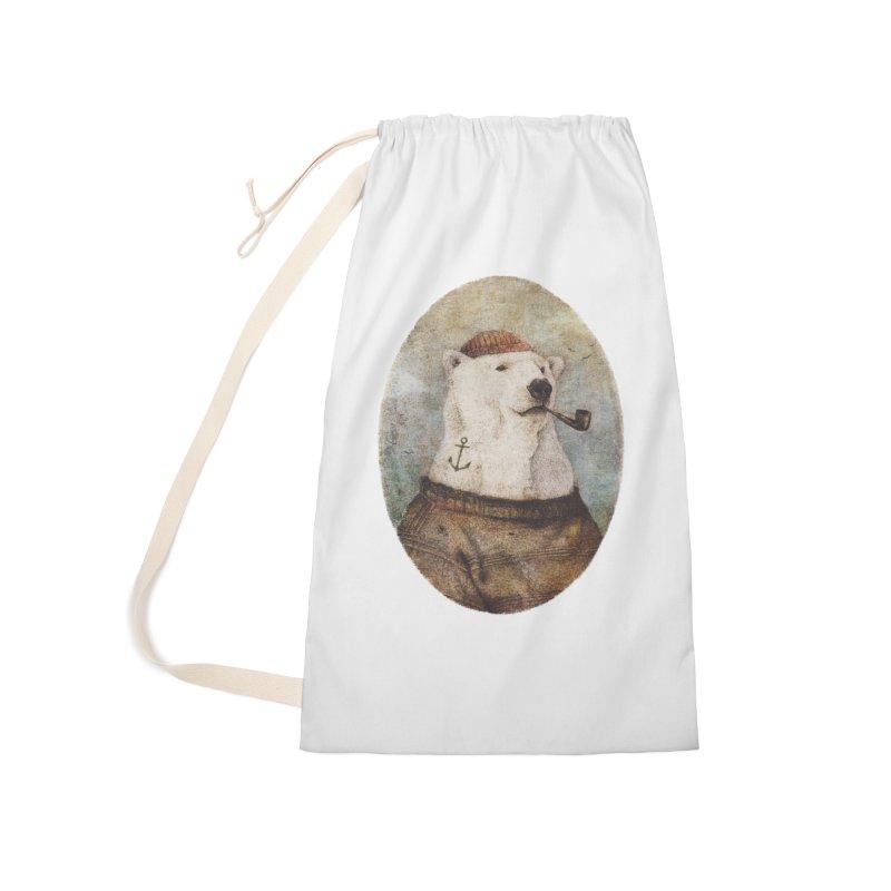 Onto the Shore Accessories Bag by mikekoubou's Artist Shop