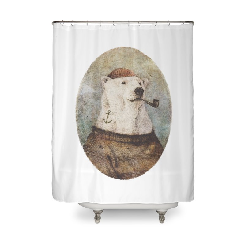 Onto the Shore Home Shower Curtain by mikekoubou's Artist Shop