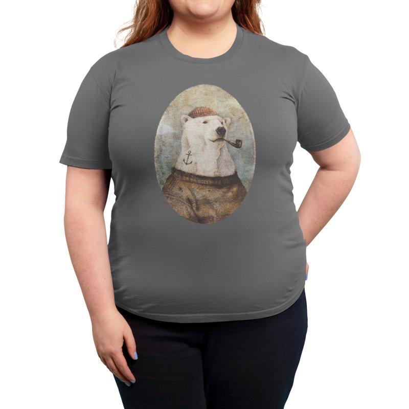 Onto the Shore Women's T-Shirt by mikekoubou's Artist Shop