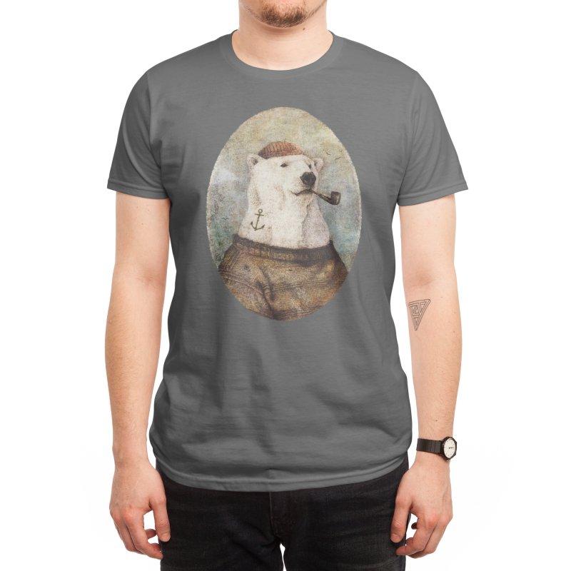 Onto the Shore Men's T-Shirt by mikekoubou's Artist Shop