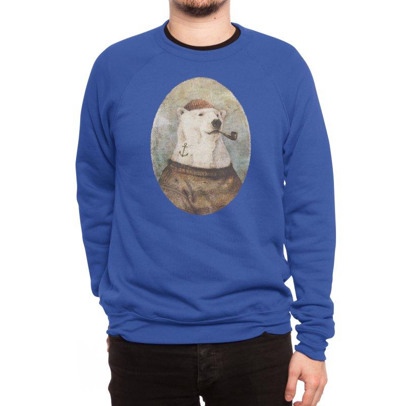 Onto the Shore Men's Sweatshirt by mikekoubou's Artist Shop