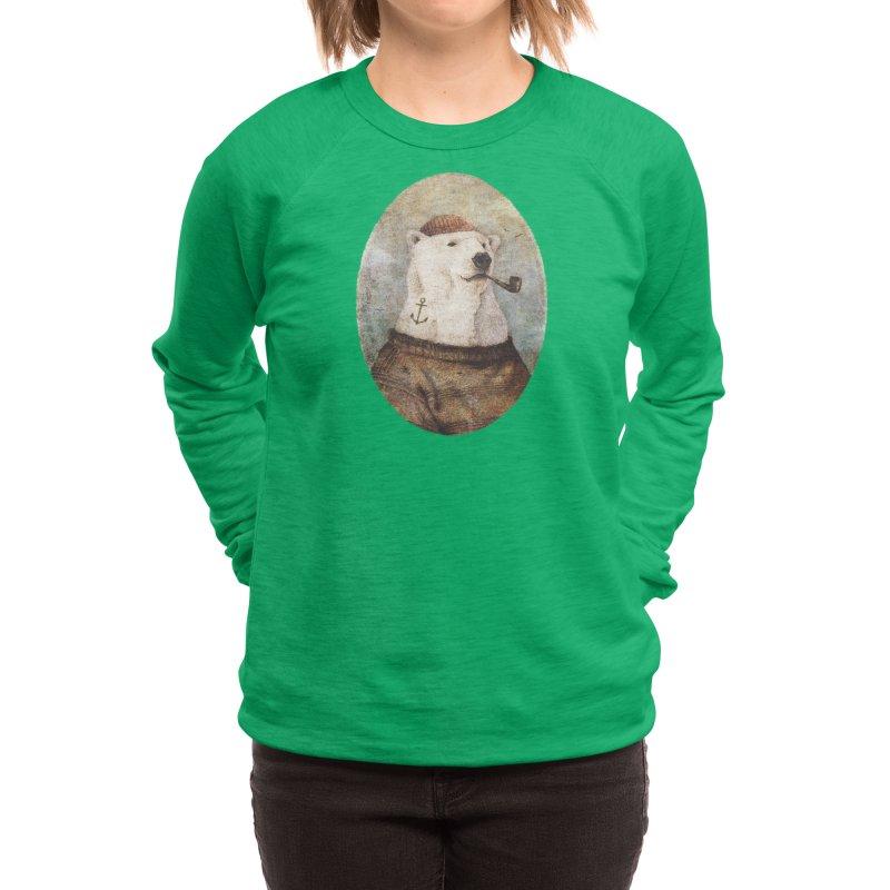 Onto the Shore Women's Sweatshirt by mikekoubou's Artist Shop